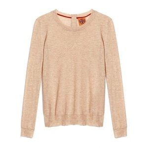 Tory Burch Iberia Cashmere Lightweight Sweater